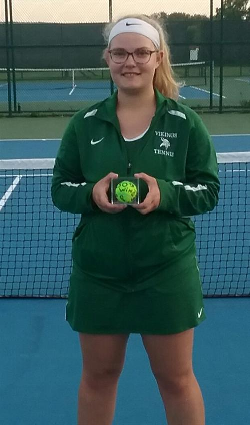 Susie Moore Picks Up Her 50th Tennis Win!